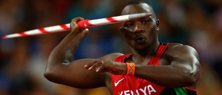 Julius Yego youtube man